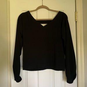 Tildon Open-back blouse